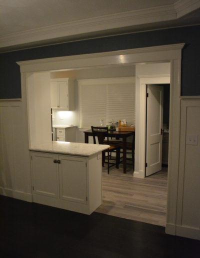Dining Room finish