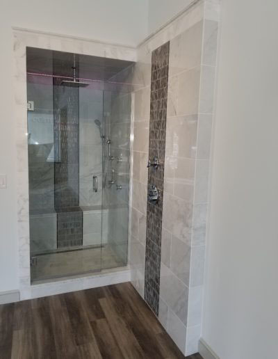 Custom Shower - McGuire + Co. Kitchen and Bath Showroom in Wakefield MA