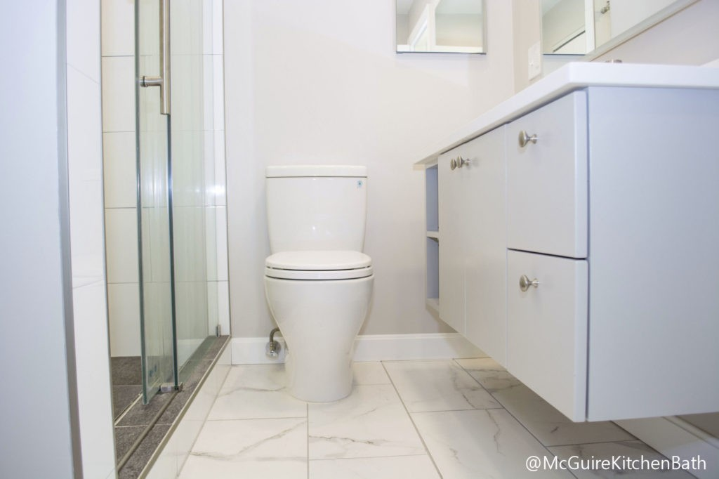 Medford MA bathroom remodel