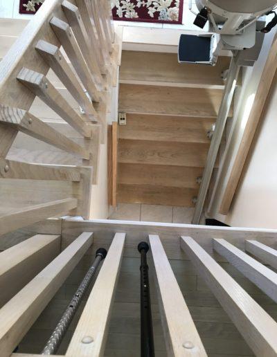 Wakefield Stairs Before