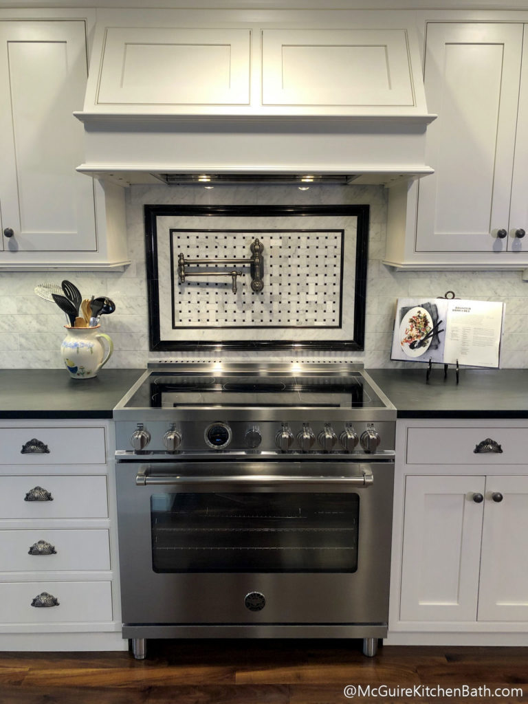 Bertazzoni stove McGuire Kitchen and Bath
