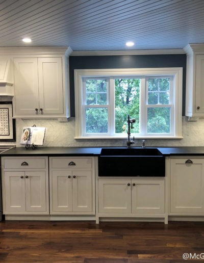 Modern farmhouse kitchen in Wakefield