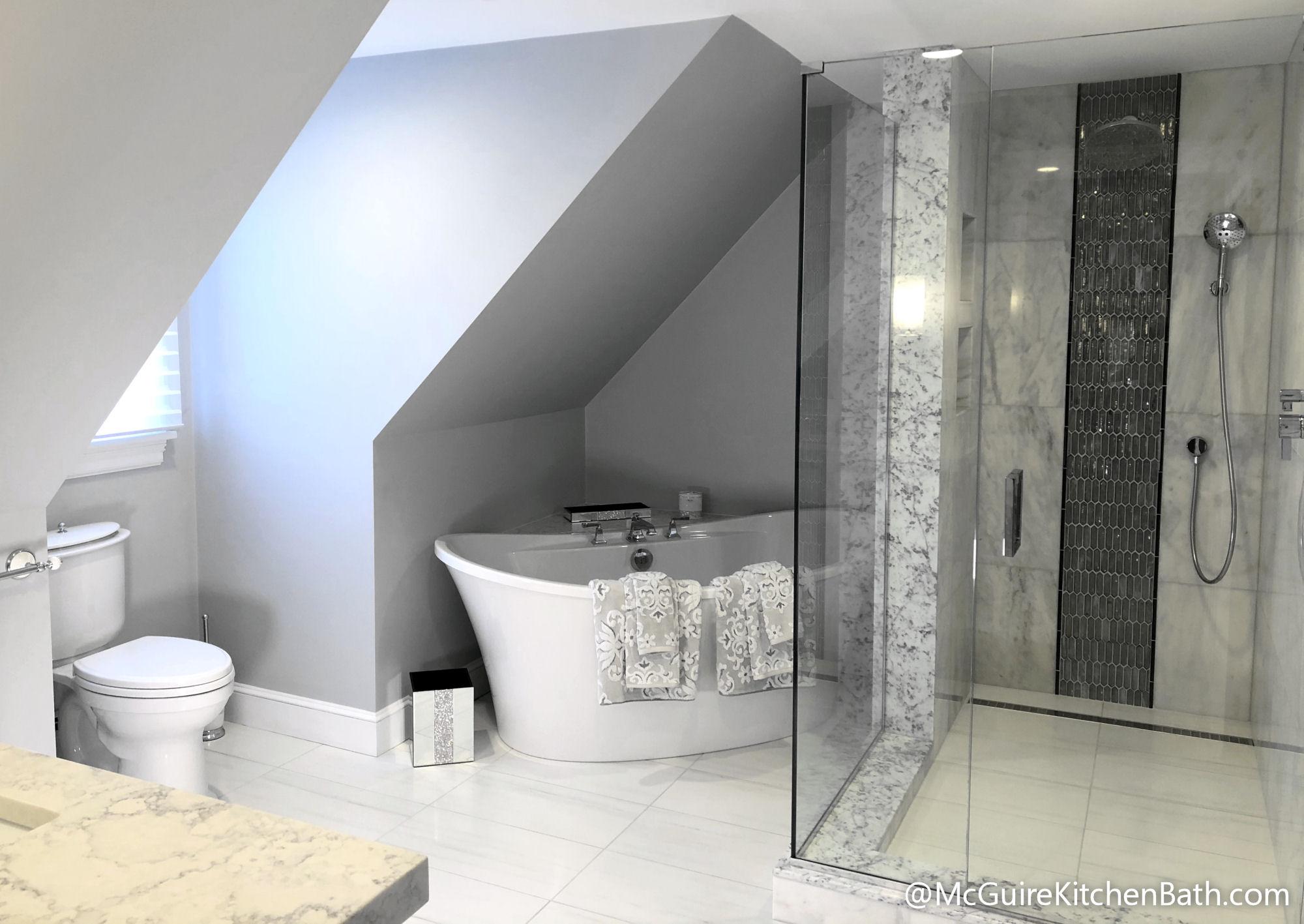 Glad Master Bathroom Remodel in Stoneham MA
