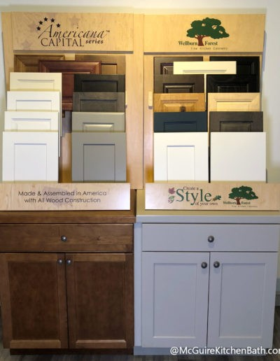 Wellborn Forest Kitchen Cabinetry - McGuire Kitchen and Bath Showroom in Wakefield MA