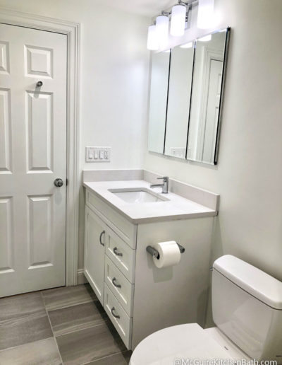 Cambridge Condo Remodel - Bathroom