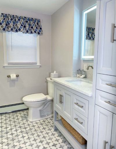 Stoneham bathroom remodel
