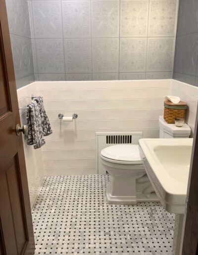 Powder Room Remodel Wakefield MA