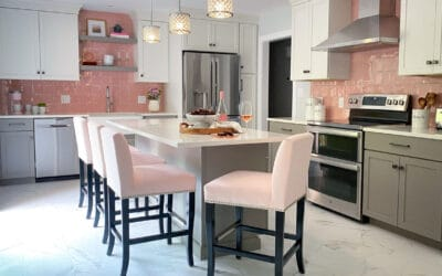 Not Your Grandmother's Pink Kitchen