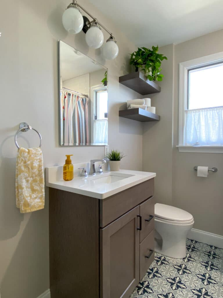 Family Bathroom Makeover in Wakefield MA