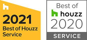 2021 & 2020 Best of Houzz service awards