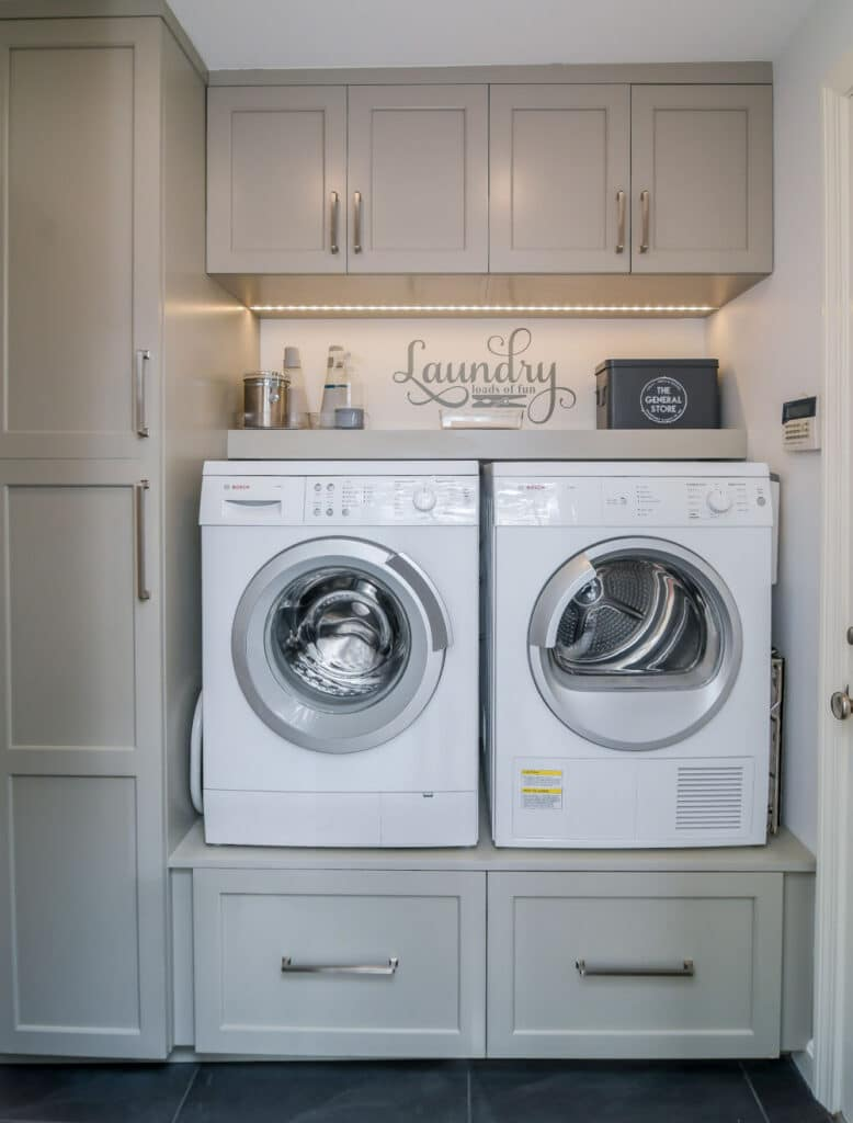 North Reading Laundry Room Remodel