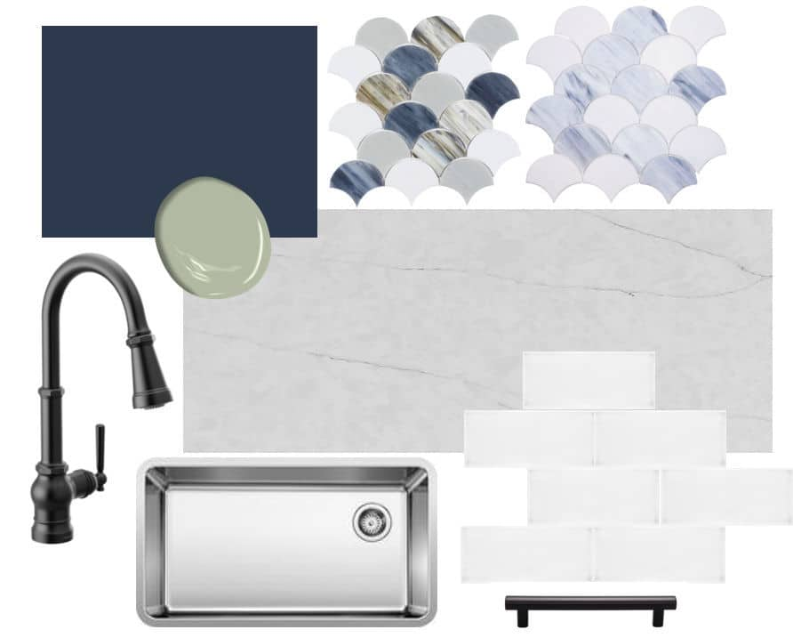 Lakeshore Kitchen Remodel Materials Selection