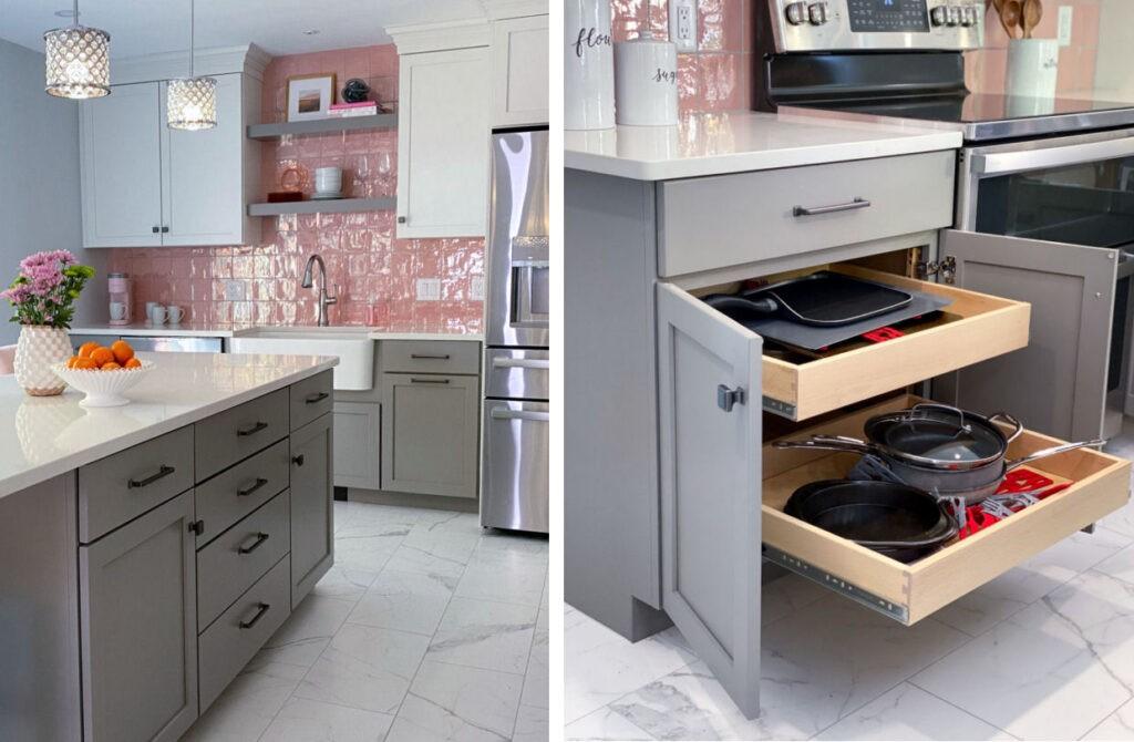 Full framed overlay Kitchen Cabinets