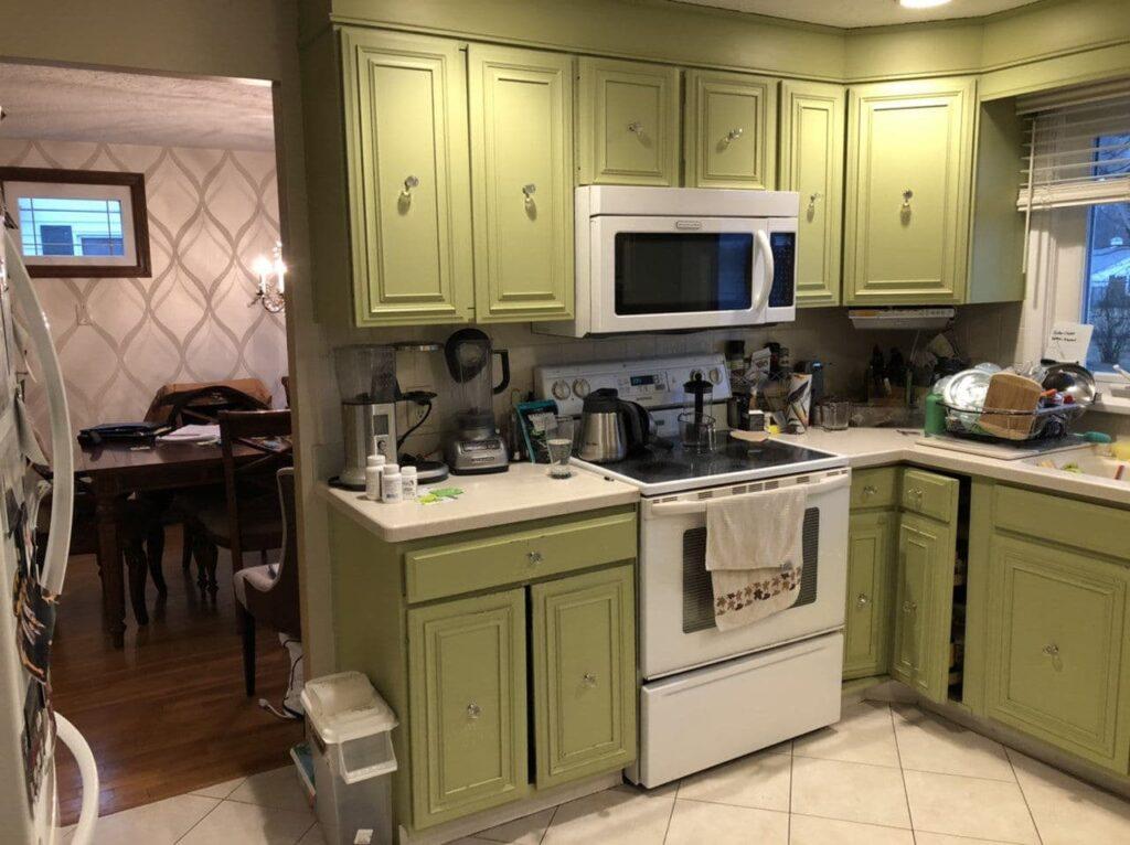BEFORE Wakefield, MA kitchen
