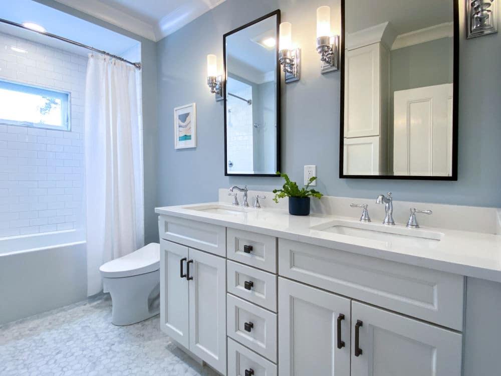 Melrose, MA bathroom remodel