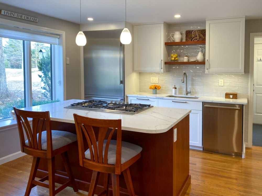 country club kitchen remodel north reading ma
