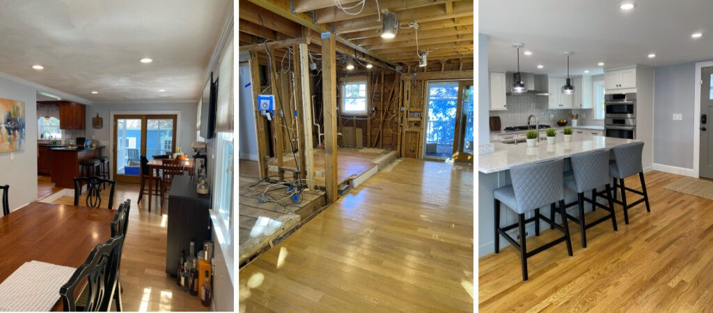 Before During After Wakefield Kitchen Remodel