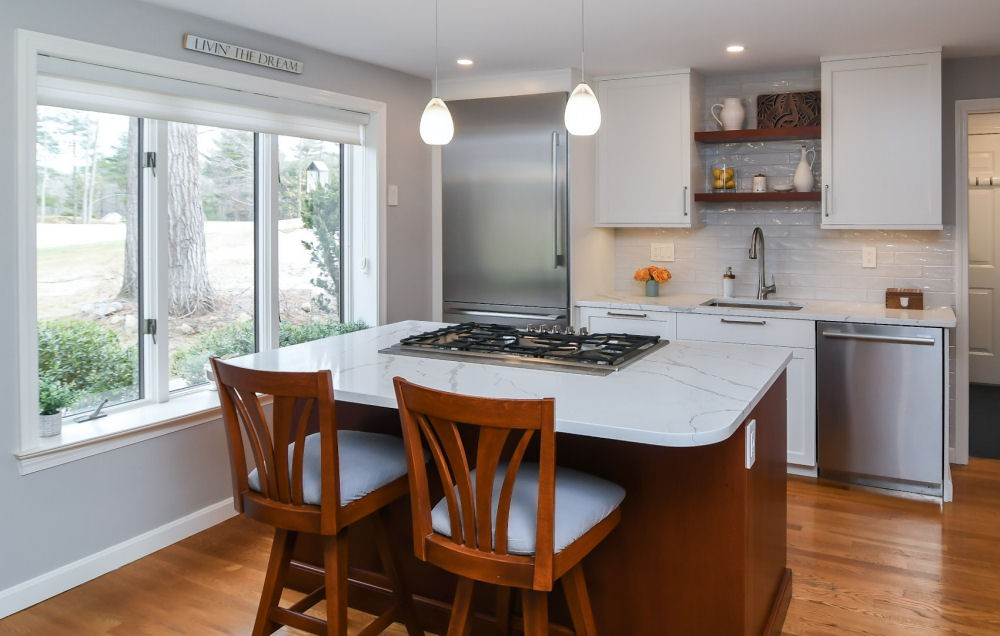 Country Club Kitchen Design North Reading MA