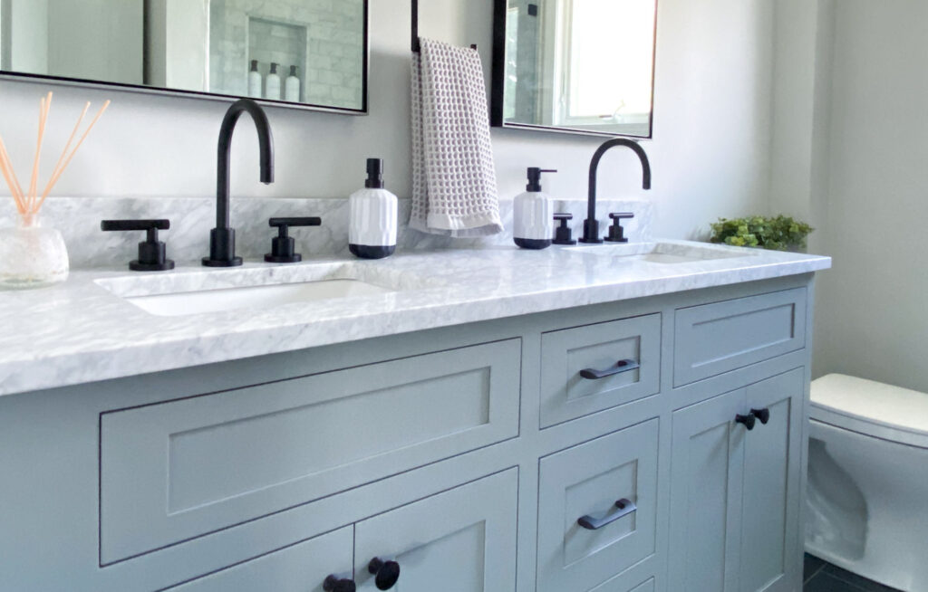Marble bathroom design Melrose MA