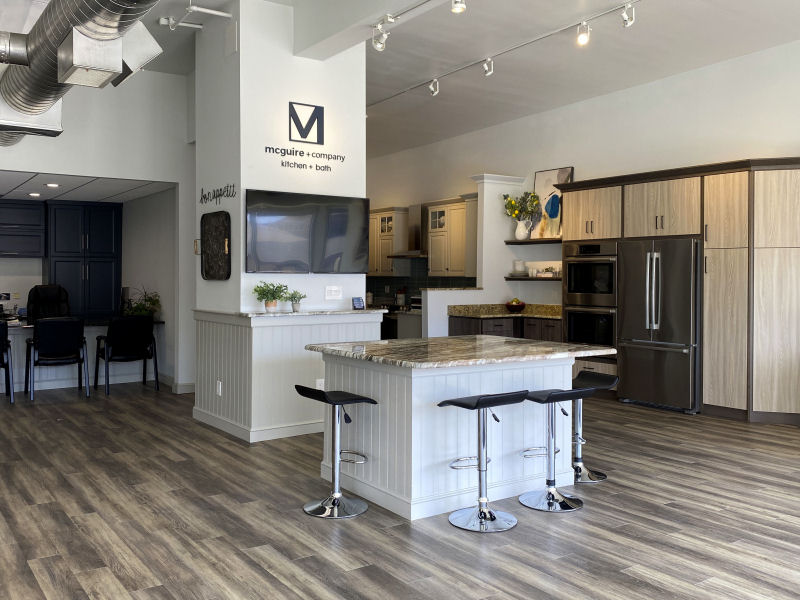 McGuire + Co Kitchen Bath Showroom Wakefield MA