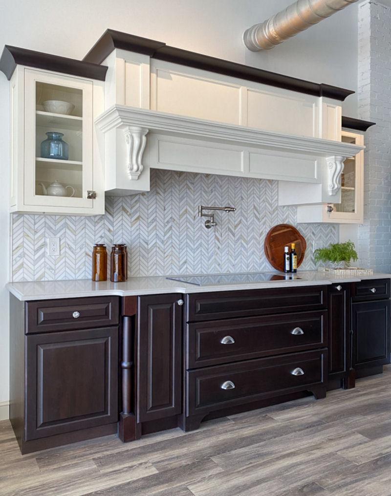 Showroom Kitchen Cabinets Wakefield MA McGuire Kitchen Bath