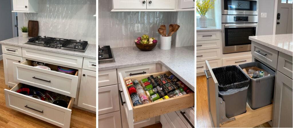 Wakefield Kitchen Remodel Cabinet Storage