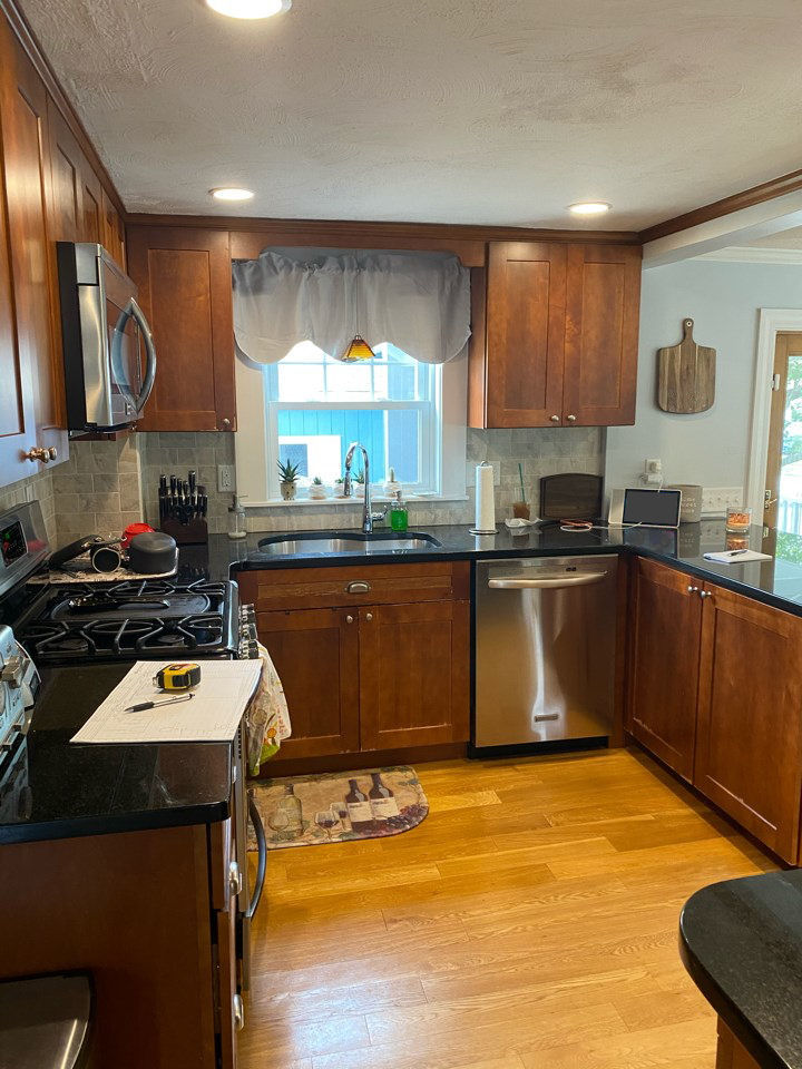 BEFORE Wakefield MA Kitchen Remodel