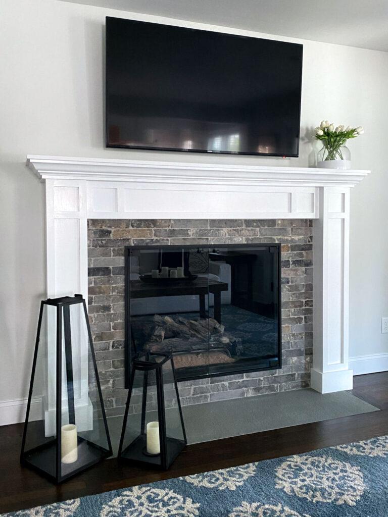 Melrose Fireplace Mantel Surround