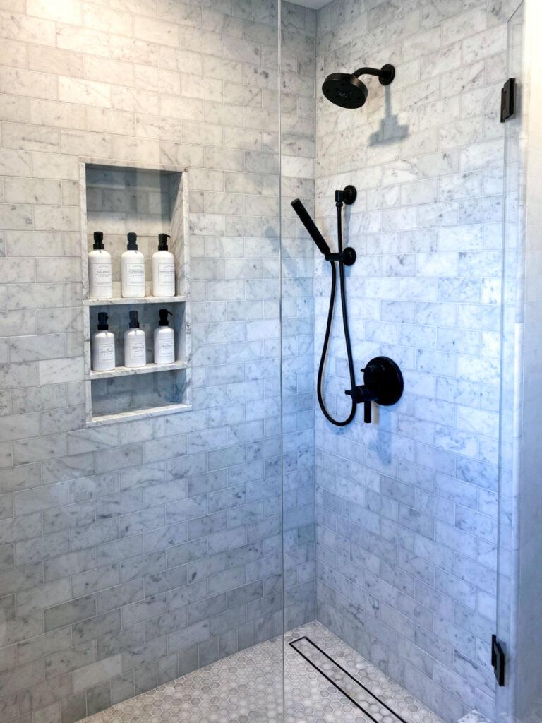AFTER Melrose Marble Bathroom