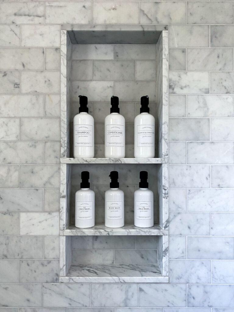Melrose Marble Bathroom Remodel Custom Shower