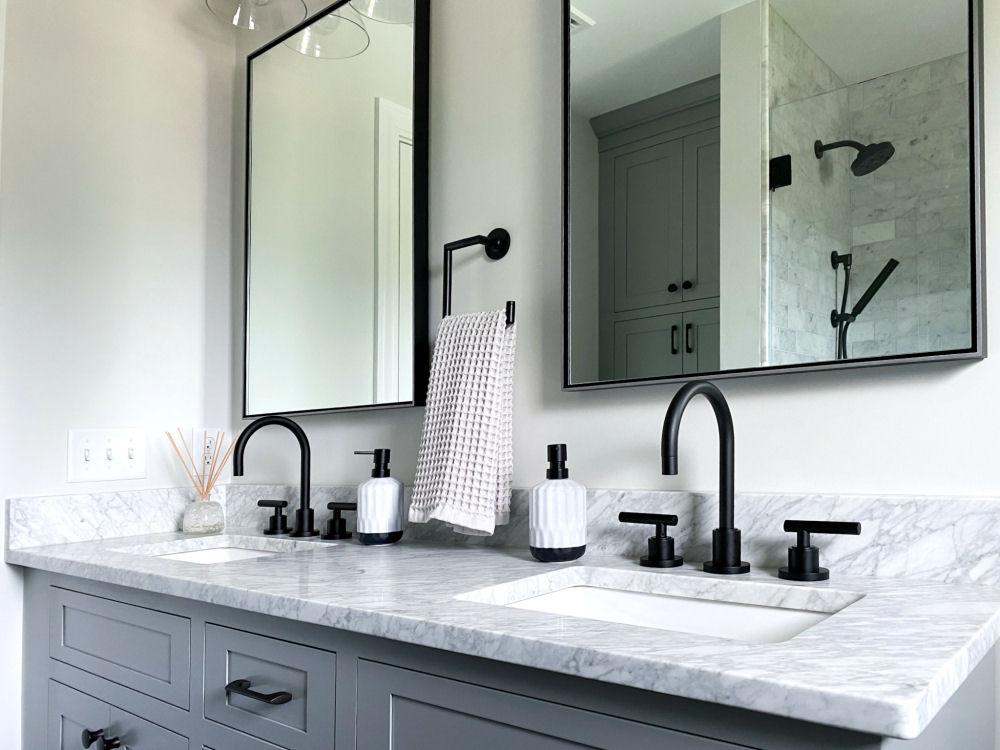 Melrose Marble Bathroom Remodel