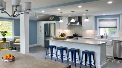 Kitchen and Bathroom Trifecta